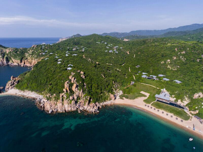 Amanoi, l'adresse la plus exclusive du Vietnam