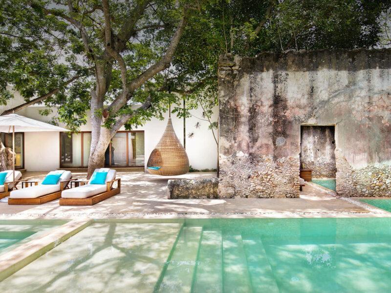 Chable Resort & Spa Yucatan, né dans les murs vénérables d'une ancienne hacienda Maya