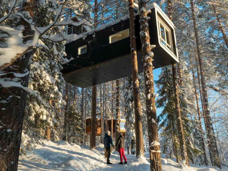 Le Treehotel et ses cabanes hors du commun