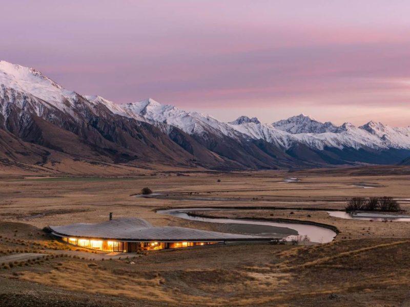The Lindis, une retraite confidentielle au sud de la Nouvelle-Zélande