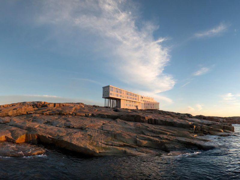 Fogo Island Inn, un OVNI posé au large de la province de Terre Neuve au Canada